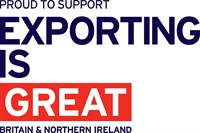 Proud To Support EXPORTING Is GREAT Noflag Blue RGB BNI